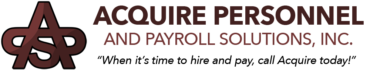 Acquire Personnel and Payroll Solutions